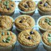 vertical pumpkin muffins