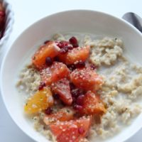 FEATURED OATMEAL + ORANGES