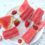FEATURED WATERMELON STRAWBERRY POPSICLES