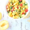 featured peach salsa