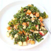 featured winter harvest squash salad