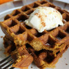 FEATURED PUMPKIN WAFFLES