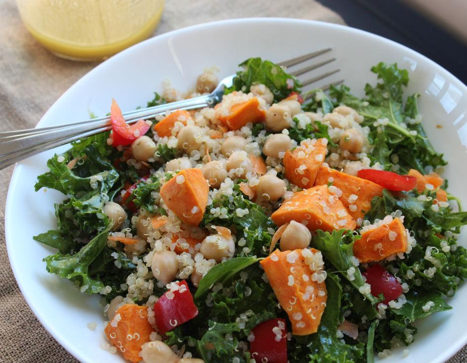 kale sweet potato quinoa salad