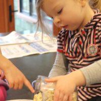 quinn making granola