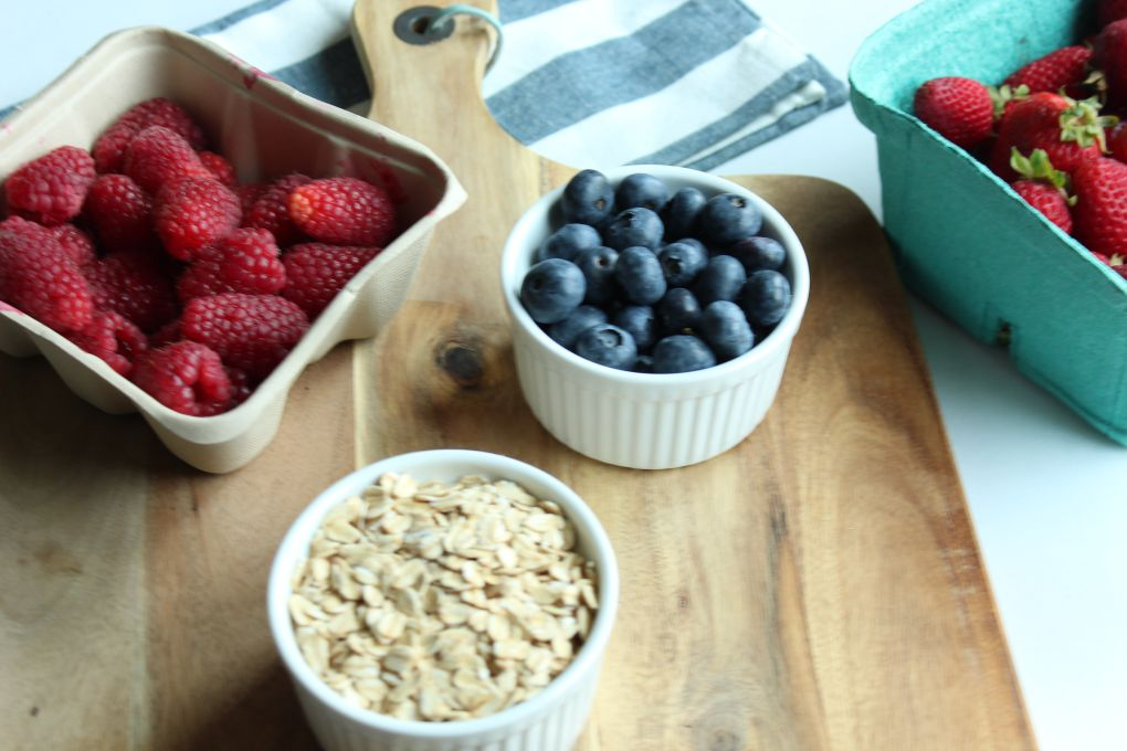 triple berry oats