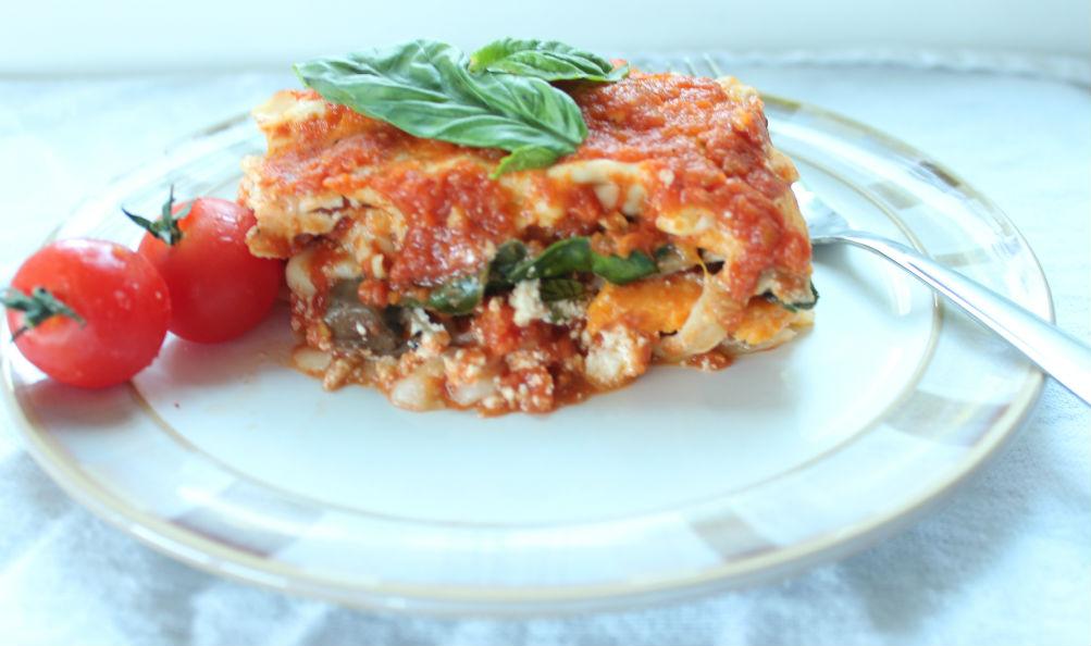 vegetarian lasagna1