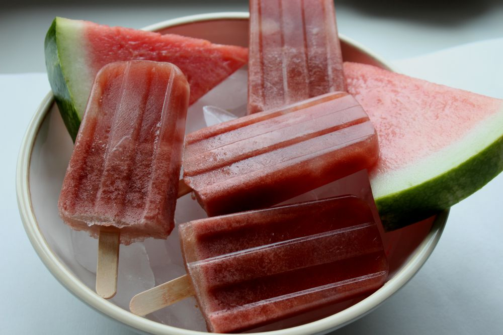 watermwelon popsicles